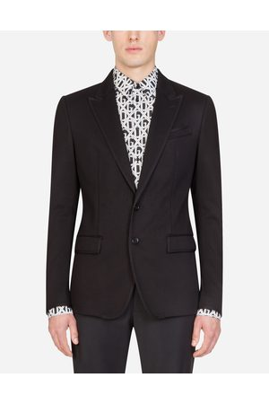 Dolce & Gabbana Coats and Blazers - STRETCH JERSEY JACKET