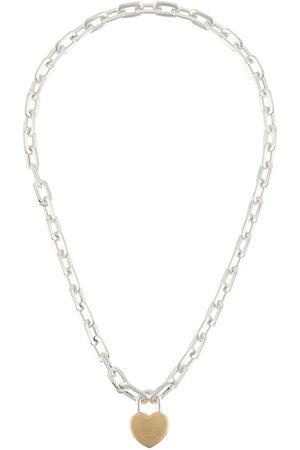 AMBUSH Small heart pad necklace