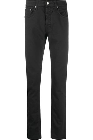 Department 5 Patch-detail straight-leg jeans