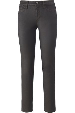 DAY.LIKE Skinny fit trousers on-trend coating size: 10s