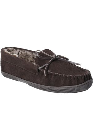 Hush Puppies Ace Slipper Borg Lined Slippers