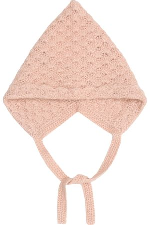 Caramel Baby Curlew cashmere hat