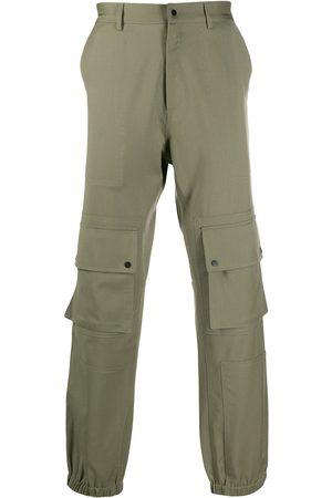 QASIMI Elastic-hem cargo trousers