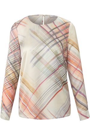 Peter Hahn Pull-on style top long sleeves multicoloured size: 10