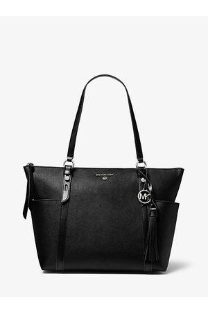 Michael Kors Women Shopper & Tote Bags - MK Nomad Large Saffiano Leather Top-Zip Tote Bag - - Michael Kors