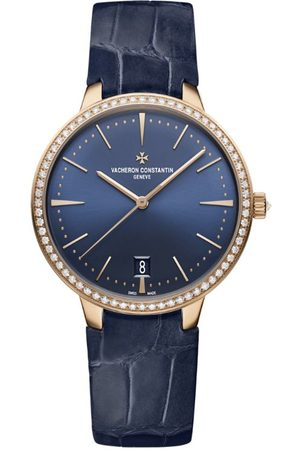 Vacheron Constantin And Diamond Patrimony Self-Winding Watch 36.5mm