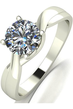 Moissanite 9Ct 1Ct Equivalent Solitaire Ring