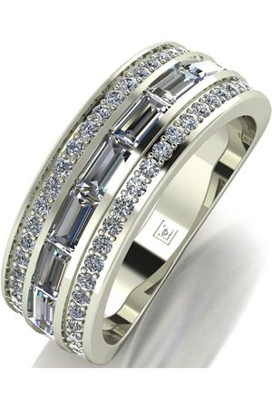 Moissanite 9Ct Band Ring