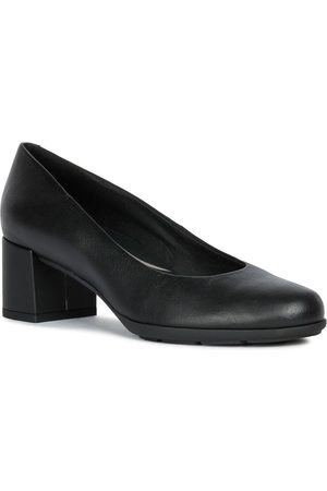 Geox D N.Annya Leather Court Shoe