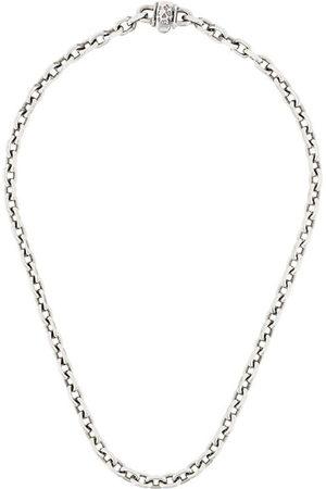 EMANUELE BICOCCHI Skull chain-link necklace - Metallic