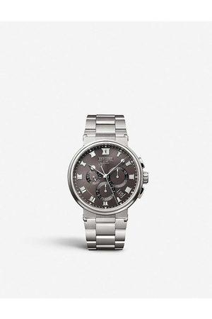 Breguet 5527TI/G2/TW0 Marine titanium mechanical watch