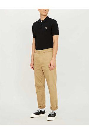 Paul Smith Zebra-embroidered cotton-piqué polo shirt