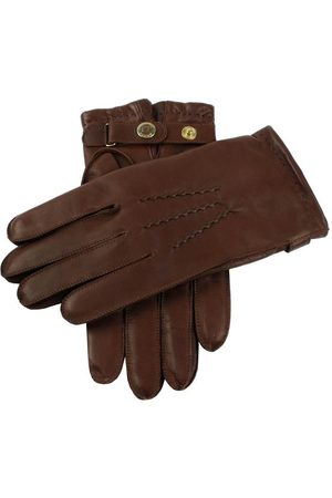 Dents Men's Cashmere Lined Leather Gloves, / 10.5