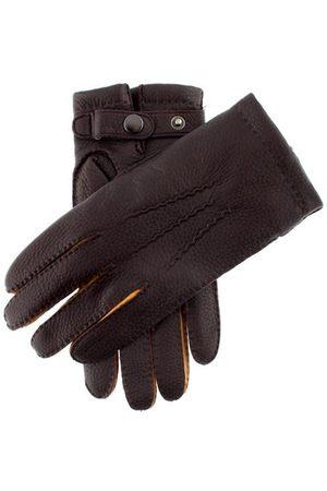 Dents Men's Cashmere Lined Deerskin Leather Gloves, / 8