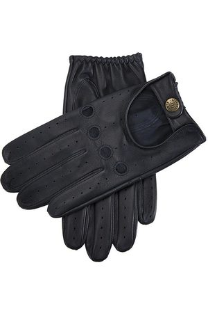 Dents Men's Leather Driving Gloves, NAVY / S