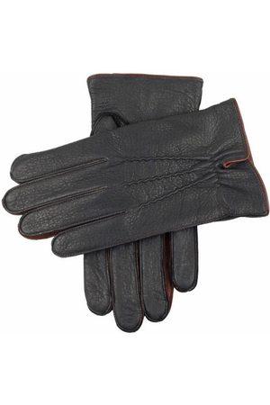 Dents Men's Cashmere Lined Deerskin Leather Gloves, / L