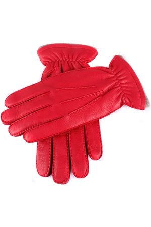 Dents Men's Handsewn Cashmere Lined Deerskin Leather Gloves, / L