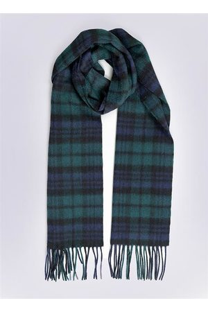 Dents Lambswool Scarf with Gift Box, BLACKWATCH / ONE