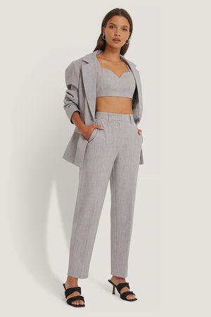 NA-KD Suit Pants - Grey