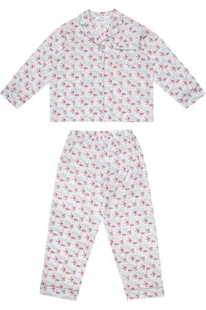 BONPOINT Dormeur floral cotton pajamas