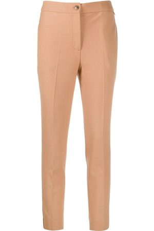 Twin-Set Slim-fit tailored trousers - Neutrals