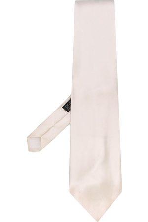 Gianfranco Ferré 1990s silk neck tie - Neutrals