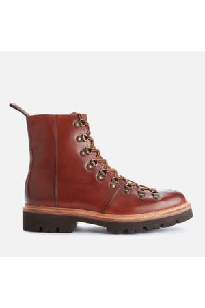 Grenson Men's Brady Handpainted Leather Hiking Style Boots
