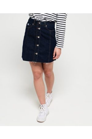 Superdry Denim A Line Skirt