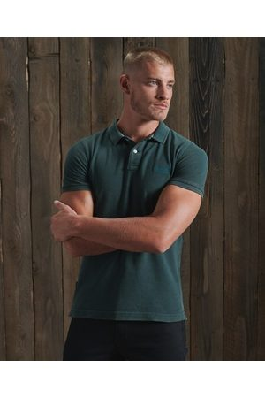 Superdry Organic Cotton Vintage Destroyed Polo Shirt