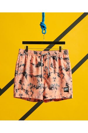 Superdry Tie Dye Volley Swim Shorts