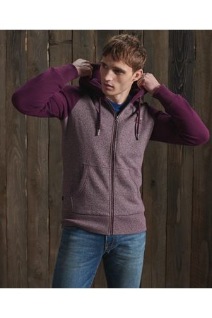 Superdry Orange Label Classic Raglan Zip Hoodie