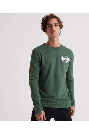 Superdry Vintage Logo Linear Long Sleeve T-Shirt