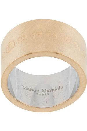 Maison Margiela Engraved Numbers ring