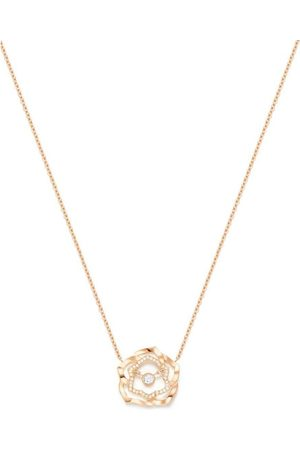 PIAGET Rose and Diamond Rose Pendant Necklace
