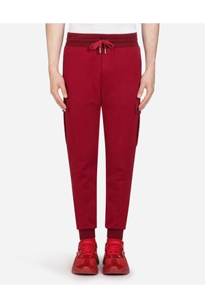 Dolce & Gabbana Trousers and Shorts - JOGGING PANTS WITH PATCH