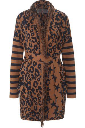 Lieblingsstück Long cardigan in a mix of patterns multicoloured size: 10