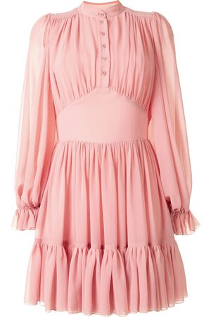 Karen Walker Lily tiered mini dress