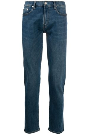 PS Paul Smith Men Slim - Whiskering effect slim-fit jeans