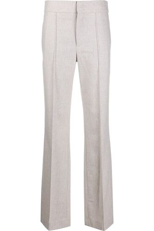 Isabel Marant High-waisted straight-leg trousers