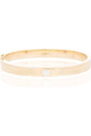 Anita 18kt gold Oval diamond bracelet