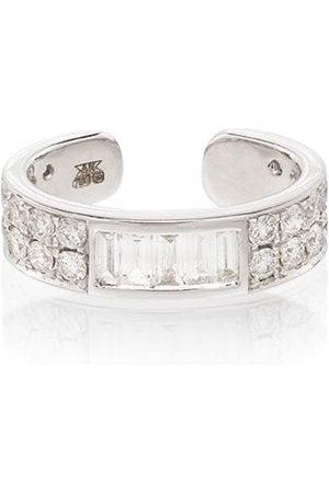Anita 18kt white gold baguette diamond ear cuff