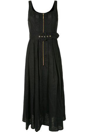 Karen Walker Women Dresses - Poppy belted linen dress