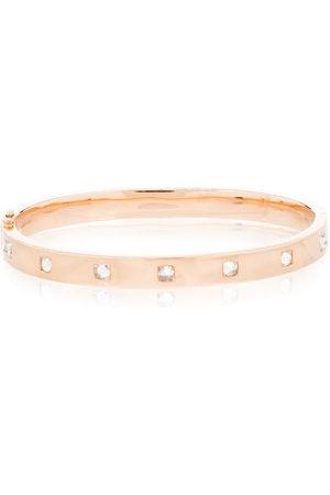 Anita Women Bracelets - 18kt rose gold Oval diamond bracelet