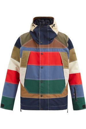 Moncler Men Jackets - Chetoz Striped Down Jacket - Mens - Multi
