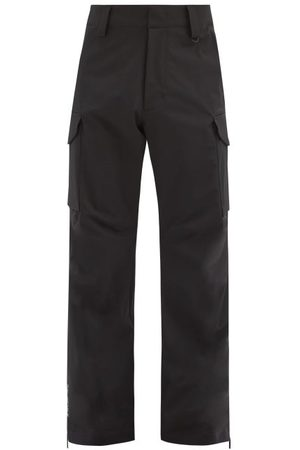Moncler Patch-pocket Technical-shell Ski Trousers - Mens