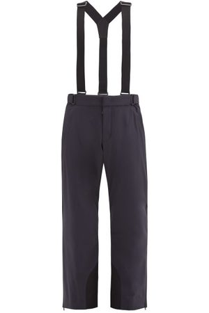 Moncler Dungaree-strap Snowboarding Trousers - Mens - Dark Navy