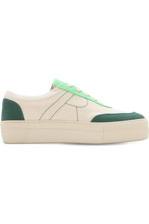 REJINA PYO 30mm Bailey Cotton Canvas Sneakers