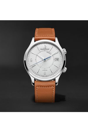 Jaeger-LeCoultre Men Watches - Master Control Memovox Automatic 40mm Stainless Steel and Leather Watch, Ref. No. Q4118420
