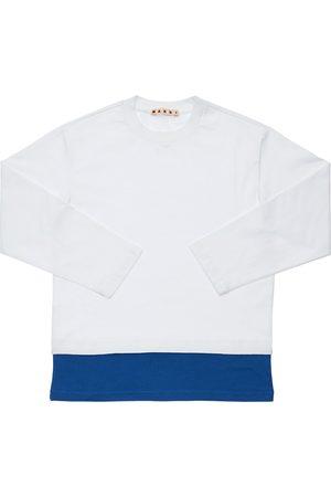 Marni Cotton Jersey T-shirt W/ Logo