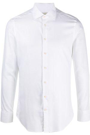 Etro Men Long sleeves - Spread-collar long sleeved shirt